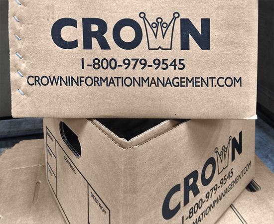 CROWN storage boxes